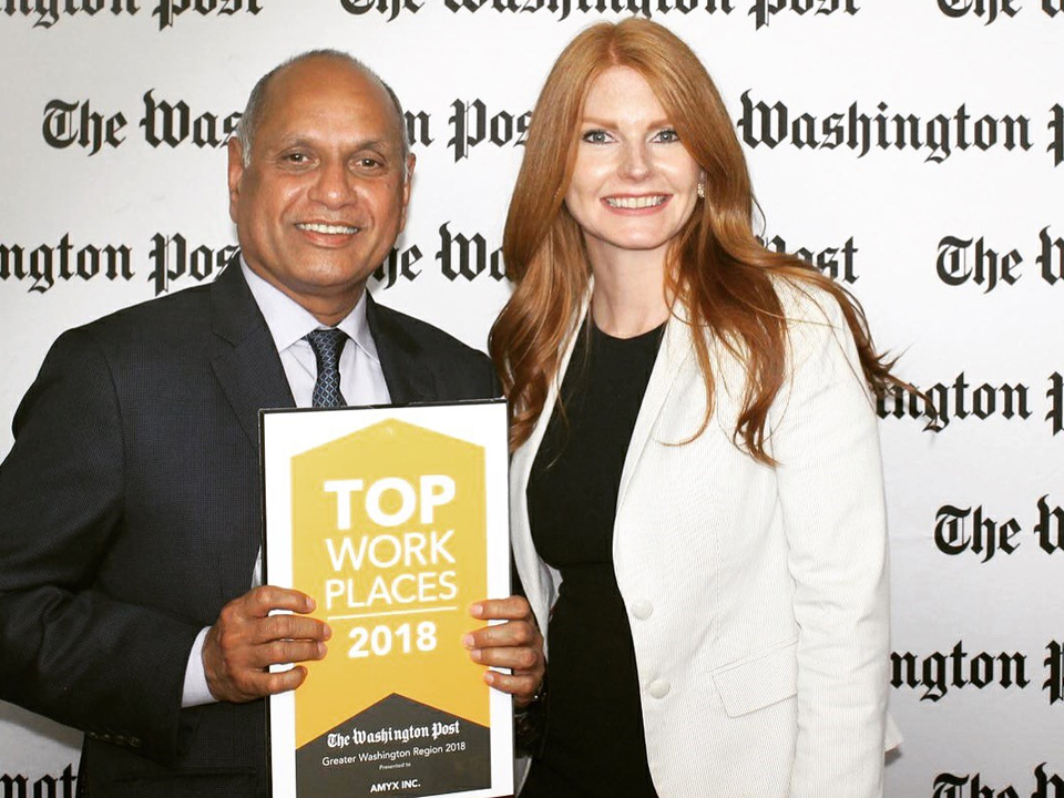 Amyx Named a Washington Post Top Workplace for 2018