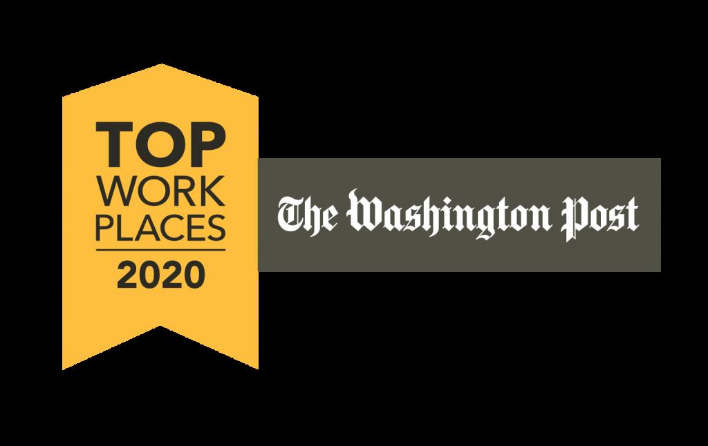 Amyx, Inc. Named Washington Post 2020 Top Workplace