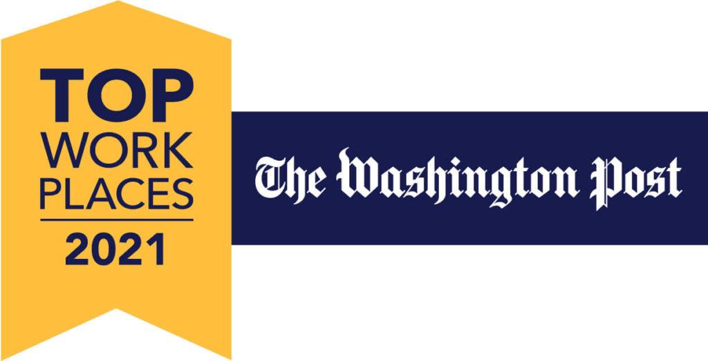 Amyx Named 2021 Washington Post Top Workplace